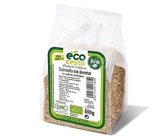 Ecocesta Salvado de avena de agricultura ecológica Bolsa 500 g