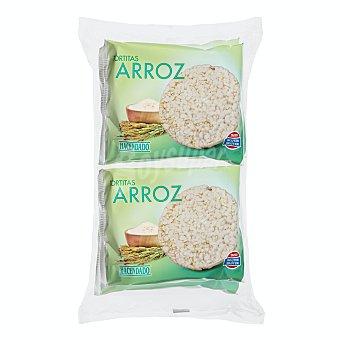 Hacendado Tortitas de arroz Pack 4 paquetes x 31 g