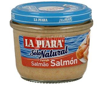 La Piara Sólo Natural Paté de salmón Tarro 100 g
