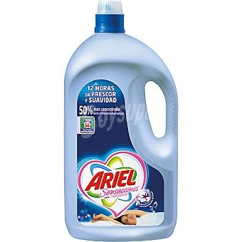 Ariel Detergente máquina líquido con suavizante concentrado Botella 54 dosis
