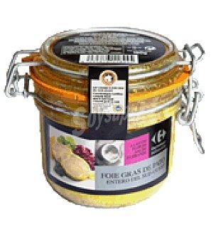 Carrefour Selección Foie gras pato entero sudoeste flor de sal guerande 180 g
