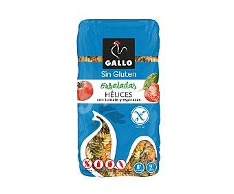 Gallo Pasta hélices sin gluten con tomate y espinacas 500 g
