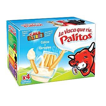 La Vaca que ríe Queso con Calcio y Cereales para Untar Pack 4 Unidades de 35 Gramos