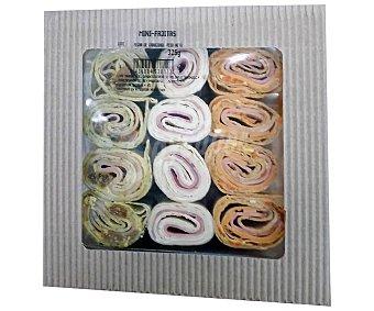 Lord Sandwiches Selección de mini - wraps (fajitas) surtidas 325 g