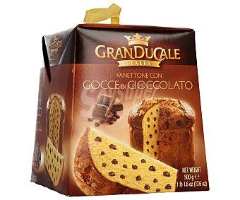 Granducale Panettone con pepitas de chocolate granducale Caja 500 g