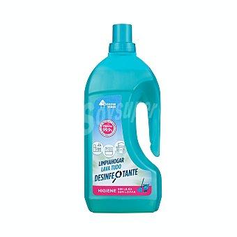 Bosque Verde Limpiahogar desinfectante antibacterias Botella 1500 ml