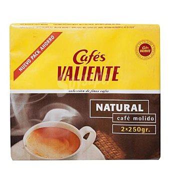 Cafés Valiente Café molido natural Pack de 2 unidades de 250 g