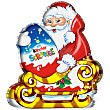 Figurita Navidad Papá Noel 75 g Kinder