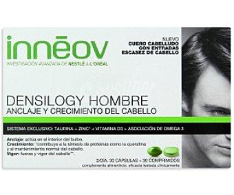 INNEOV Tratamiento cabello hombre (anclaje y crecimiento del cabello) DENSILOGY 60 Comprimidos
