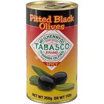 Serpis Aceitunas negras con tabasco sin hueso Lata 150 g