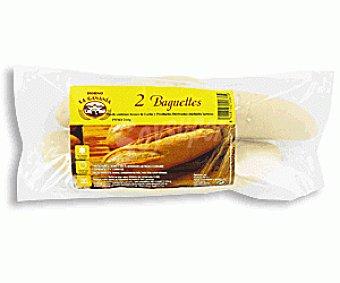 Franjuba Baguettes de Pan Precocido 2 Unidades 260 Gramos