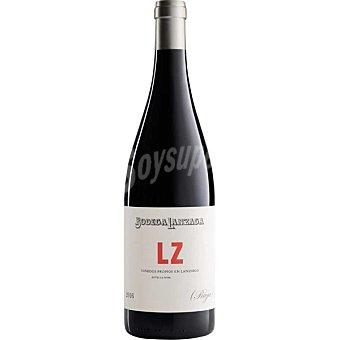 LANZAGA LZ vino tinto Telmo Rodriguez D.O. Rioja Botella 75 cl