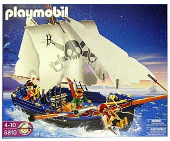 PLAYMOBIL Playset Barco de Piratas, Modelo 5810 1 Unidad