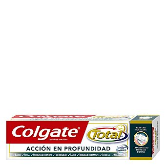 COLGATE TOTAL Pasta de dientes accion en profundidad tubo 75 ml Tubo 75 ml