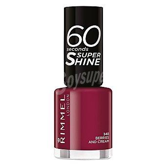 rimmel Laca de uñas 60 seconds super shine nº 340 Berries and Cream Rimmel 1 ud
