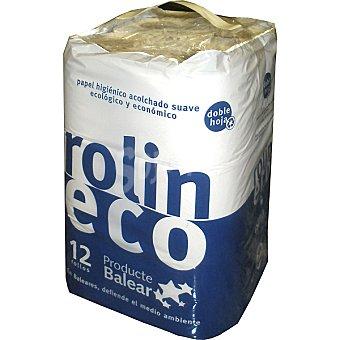 ROLIN Papel higiénico eco paquete 12 rollos Paquete 12 rollos