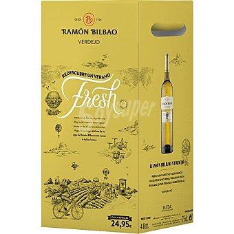 Ramón Bilbao Vino blanco verdejo DO Rueda caja 4 botellas 75 cl