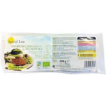 Special Line Hamburguesa vegetal de alcachofa envase 200 g 2 unidades