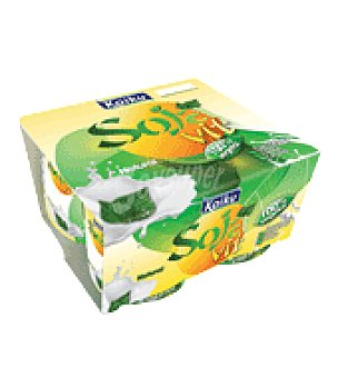 Kaiku Yogur Bio Soja Natural Pack de 4x125 g