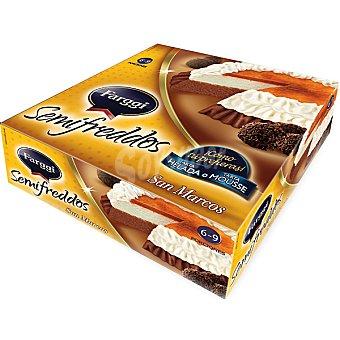 FARGGI SEMIFREDDOS Tarta helada San Marcos 6-9 porciones Estuche 750 ml