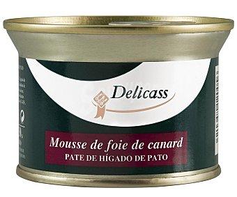 Delicass Paté de hígado de pato 130 gramos