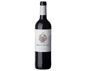 HEREDAD GARCÍA DE OLANO Vino tinto con denominación de origen Rioja Botella de 75 cl