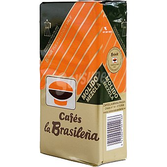 BRANIK CAFES LA BRASILEÑA Cafe molido mezcla Paquete 250 g