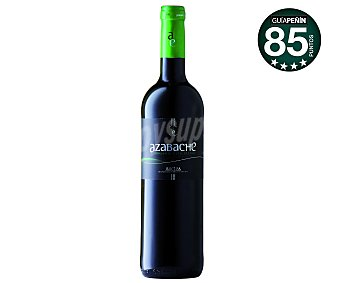 Azabache Vino tinto joven y ecológico con denominación de origen la Rioja Botella de 75 cl