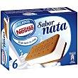 Sándwich relleno de helado de nata Pack 8 x 100 ml Helados Nestlé