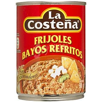 Costeña frijoles bayos refritos Lata 580 gr