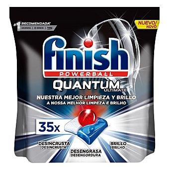 Finish Lavavajillas máquina quantum ultimate en Pastillas 35 ud