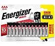 Paquete de pilas AAA con 8+4 unidades, energizer. 8+4 unidades ENERGIZER Max
