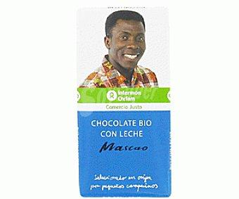 Mascao Chocolate Con Leche Ecológico 100g