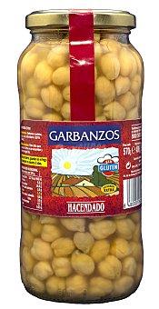 Hacendado Garbanzo cocido Tarro 570 g escurrido