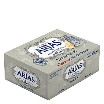 Arias Mantequilla en barritas Pack de 4x62,5 g = 250 g