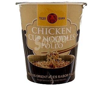 Tiger Khan Fideos chinos de pollo 60 gramos