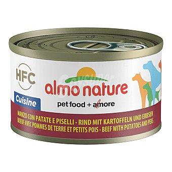 Almo Nature HFC cuisine alimento húmedo para perros adultos con vacuno, patata y guisante Envase 95 g