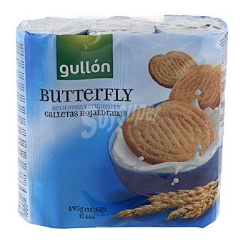 Gullón Galletas Butterfly Pack 3x165 g