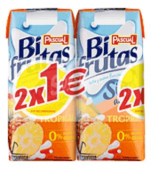 Bifrutas Pascual Zumo tropical Pack de 2x33 cl