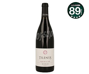 TILENUS Vino tinto envejecido en roble con denominación de origen Bierzo Botella de 75 cl