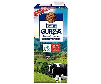 Label gurea Leche entera fresca 1 l