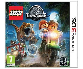 AVENTURA Videojuego Lego Jurassic World para Nintendo 3Ds. Género: aventura. Recomendación por edad pegi: +7 años 3Ds