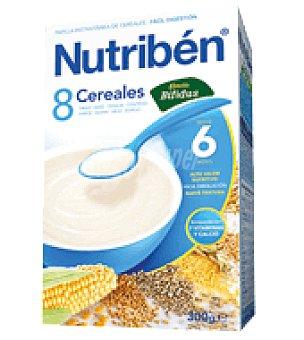 Nutribén Papilla 8 cereales Bífidus 600 g