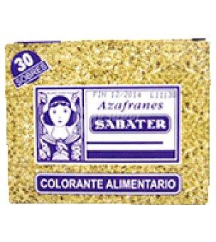 Sabater Colorante alimentario 30 ud