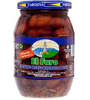 El Faro Aceitunas negras naturales Aragón 200 g