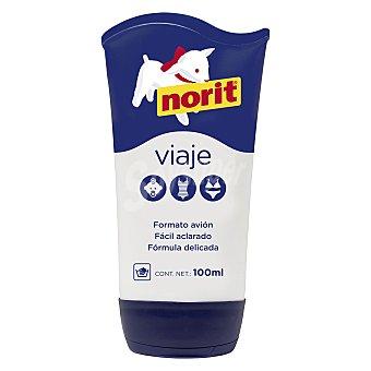 Norit Detergente prendas delicadas lavado a mano tamaño viaje fácil aclarado Tubo 100 ml
