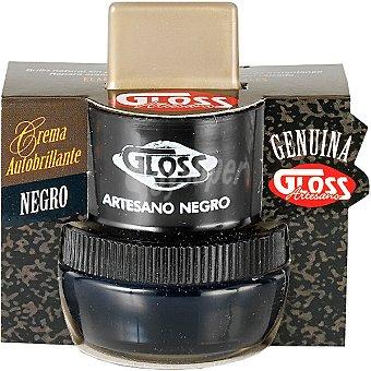 Gloss Limpia calzado crema artesana negro tarro 50 ml Tarro 50 ml