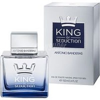 Antonio Banderas Colonia para hombre King Of Seduction Frasco 100 ml