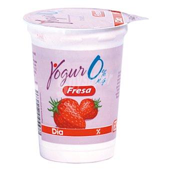 DIA Yogur con fresa desnatado envase 200 g