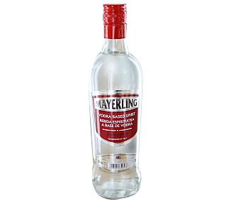 MAYERLING Vodka (30º) Botella de 70 centilítros